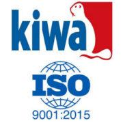 certificazione Kiwa ISO 9001 2015